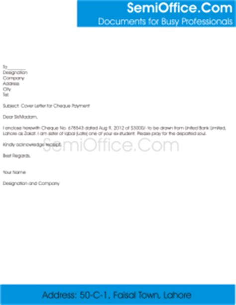 Cover letter template no addressee